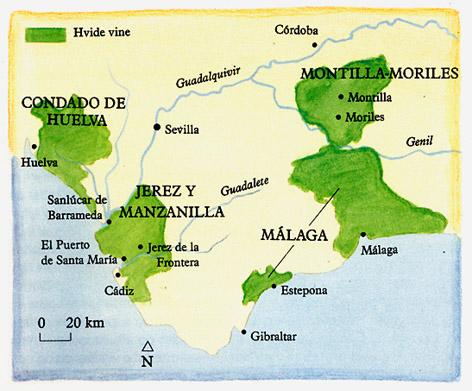 sherry produktion spanien